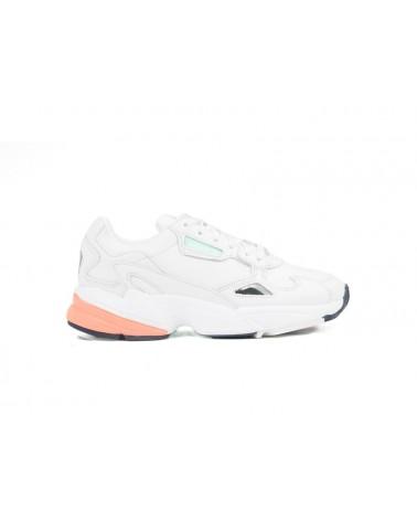 Adidas Falcon Blancas y Naranjas