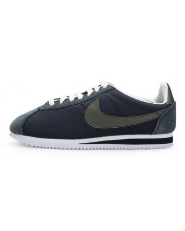 "Nike Cortez ""CLASSIC 2015"" GRIS OSCURO VERDE"