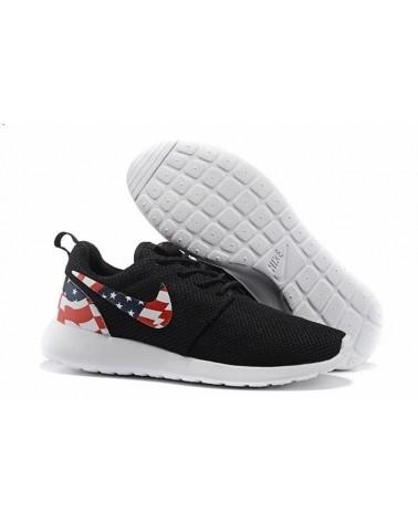 """Roshe Run """"USA FLAG"""" NEGRAS"""