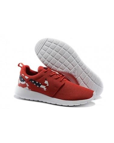 "Roshe Run ""USA FLAG"" GRANATES"