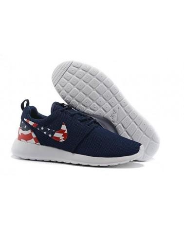 "Roshe Run ""USA FLAG"" AZULES"