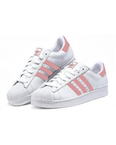 "Adidas ""SUPERSTAR 2015"" Blancas/Rosa"